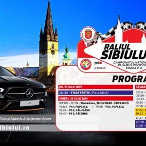 Cazare Raliul Sibiului 2019 – 63 de echipaje vor lua startul.