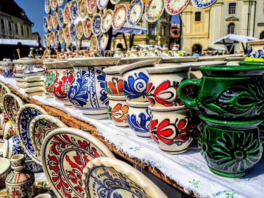 Cazare pensiune Sibiu – Târgul Olarilor revine în Piaţa Mare a oraşului Sibiu